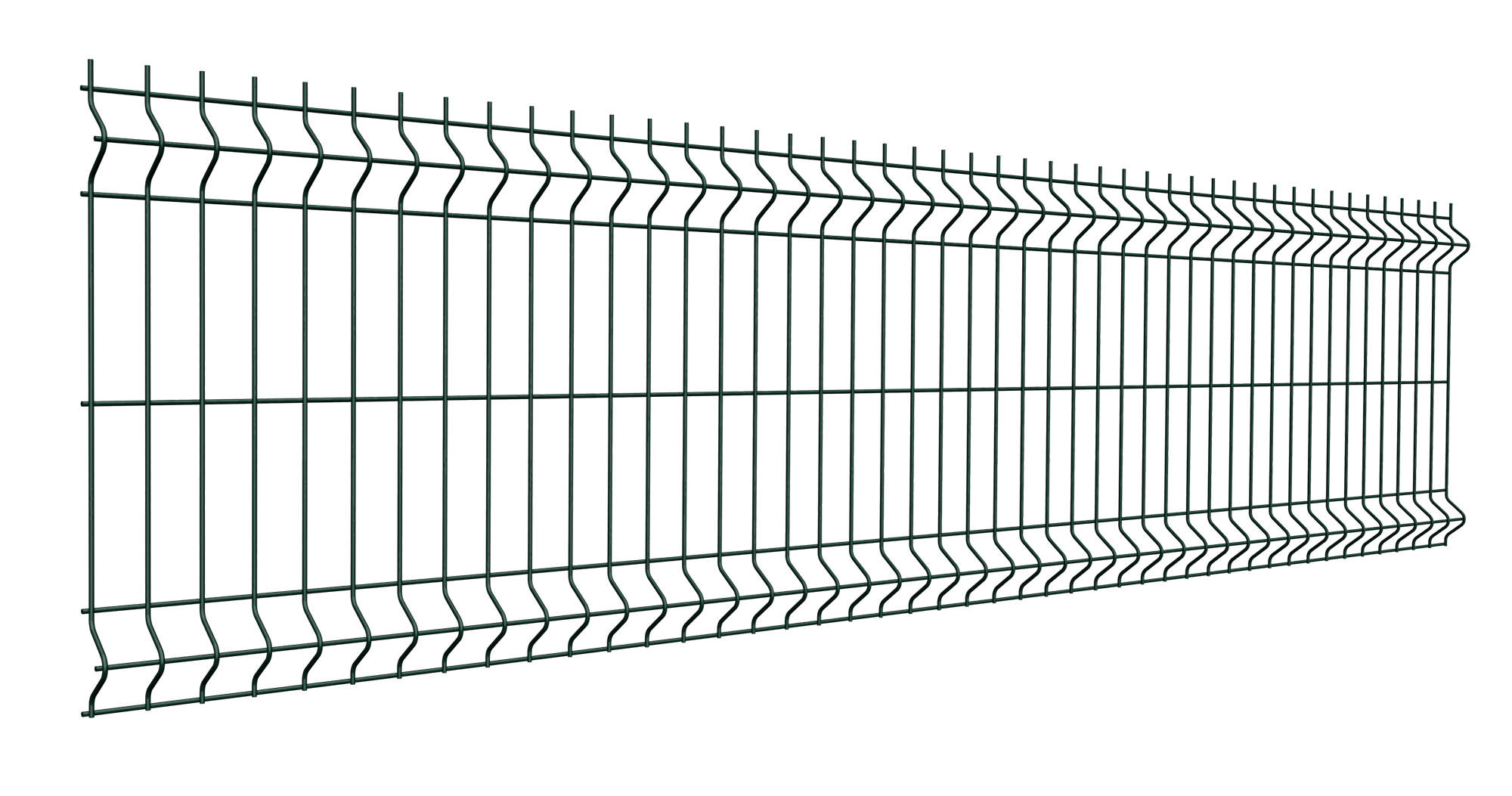Как выглядит панельный забор